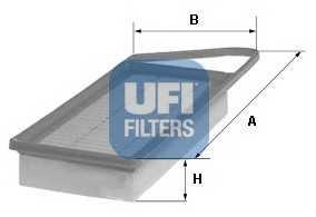 Фильтр воздушный UFI 30.153.00 - изображение