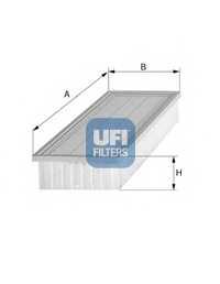 Фильтр воздушный UFI 30.165.00 - изображение