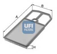 Фильтр воздушный UFI 30.184.00 - изображение