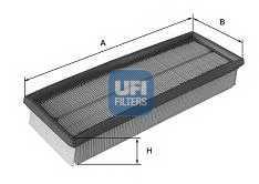 Фильтр воздушный UFI 30.187.00 - изображение