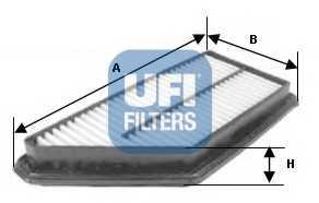 Фильтр воздушный UFI 30.229.00 - изображение