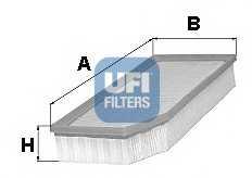 Фильтр воздушный UFI 30.251.00 - изображение