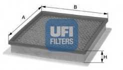 Фильтр воздушный UFI 30.259.00 - изображение