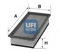 Фильтр воздушный UFI 30.260.00 - изображение