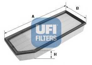 Фильтр воздушный UFI 30.274.00 - изображение