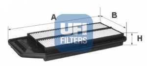 Фильтр воздушный UFI 30.276.00 - изображение