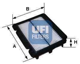 Фильтр воздушный UFI 30.279.00 - изображение