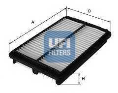 Фильтр воздушный UFI 30.280.00 - изображение