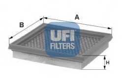 Фильтр воздушный UFI 30.281.00 - изображение