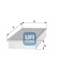 Фильтр воздушный UFI 30.287.00 - изображение