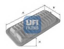 Фильтр воздушный UFI 30.289.00 - изображение