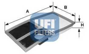 Фильтр воздушный UFI 30.342.00 - изображение