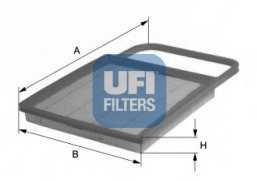 Фильтр воздушный UFI 30.345.00 - изображение