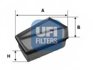 Фильтр воздушный UFI 30.349.00 - изображение