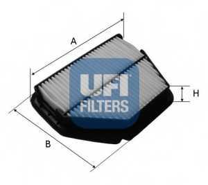 Фильтр воздушный UFI 30.392.00 - изображение