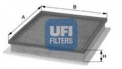 Фильтр воздушный UFI 30.404.00 - изображение