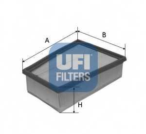 Фильтр воздушный UFI 30.407.00 - изображение