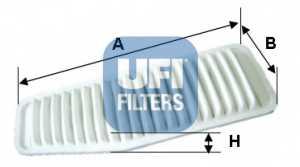 Фильтр воздушный UFI 30.453.00 - изображение