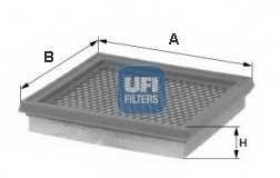 Фильтр воздушный UFI 30.544.00 - изображение