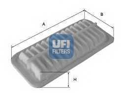Фильтр воздушный UFI 30.553.00 - изображение