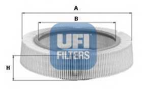 Фильтр воздушный UFI 30.896.00 - изображение