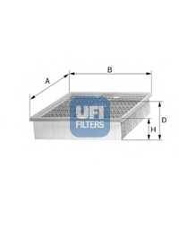 Фильтр воздушный UFI 30.911.00 - изображение