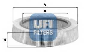 Фильтр воздушный UFI 30.969.00 - изображение