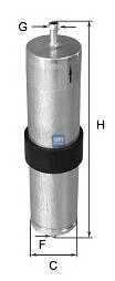Фильтр топливный UFI 31.569.00 - изображение