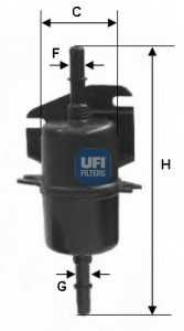 Фильтр топливный UFI 31.740.00 - изображение