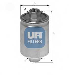 Фильтр топливный UFI 31.750.00 - изображение