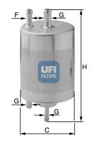 Фильтр топливный UFI 31.834.00 - изображение