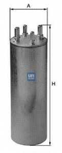 Фильтр топливный UFI 31.849.00 - изображение