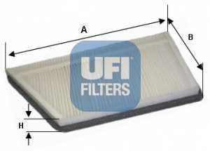 Фильтр салонный UFI 53.044.00 - изображение