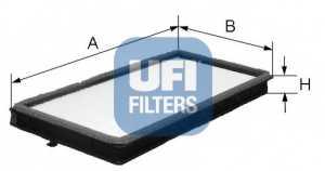 Фильтр салонный UFI 53.046.00 - изображение