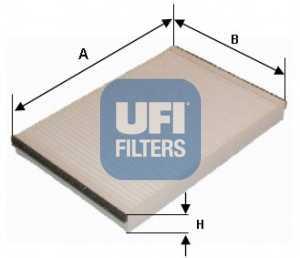Фильтр салонный UFI 53.047.00 - изображение