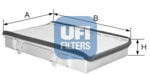 Фильтр салонный UFI 53.049.00 - изображение