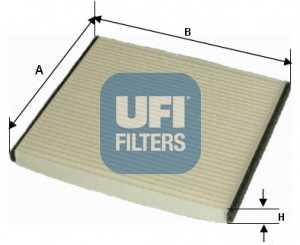 Фильтр салонный UFI 53.050.00 - изображение