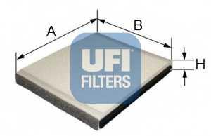 Фильтр салонный UFI 53.051.00 - изображение
