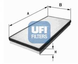 Фильтр салонный UFI 53.052.00 - изображение