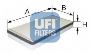 Фильтр салонный UFI 53.059.00 - изображение