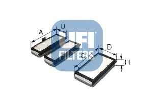 Фильтр салонный UFI 53.070.00 - изображение