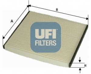Фильтр салонный UFI 53.076.00 - изображение