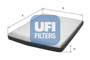 Фильтр салонный UFI 53.091.00 - изображение