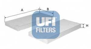 Фильтр салонный UFI 53.108.00 - изображение