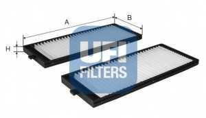 Фильтр салонный UFI 53.119.00 - изображение