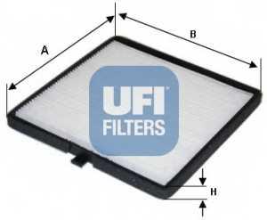 Фильтр салонный UFI 53.126.00 - изображение