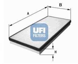 Фильтр салонный UFI 53.222.00 - изображение