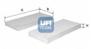 Фильтр салонный UFI 53.226.00 - изображение
