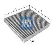 Фильтр салонный UFI 54.103.00 - изображение