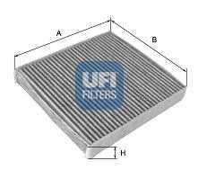 Фильтр салонный UFI 54.114.00 - изображение